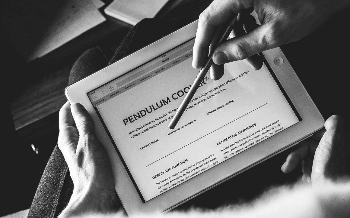 tablet ansicht der ikn internetseite