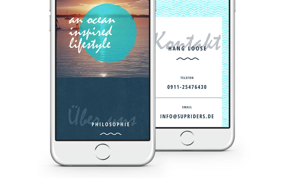 Responsive Webdesign für SUPriders